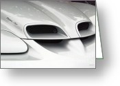 Ram Air Greeting Cards - Pontiac Ram Air Emblem Greeting Card by Thomas Woolworth