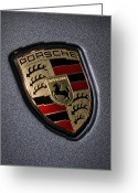 Cayman Greeting Cards - Porsche Greeting Card by Gordon Dean II