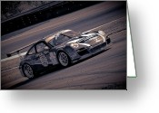 Race Car Photo Greeting Cards - Porsche GT3RS GTC Greeting Card by Scott  Wyatt
