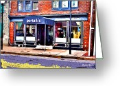 Catonsville Greeting Cards - Portallis Greeting Card by Stephen Younts
