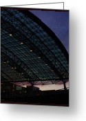 Travel Agent Greeting Cards - Portland International Airport Greeting Card by Gerry  Tetz