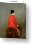 Posh Painting Greeting Cards - Portrait of Thomas Cholmondeley Greeting Card by Henry Calvert