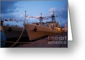Nato Greeting Cards - Portuguese frigates Greeting Card by Gaspar Avila