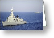 333 Greeting Cards - Portuguese Navy Frigate Nrp Bartolomeu Greeting Card by Stocktrek Images