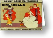 Ugly Greeting Cards - Poster for Cinderella Greeting Card by Tom Browne