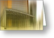 Traffic Greeting Cards - Potsdamer Platz BERLIN I Greeting Card by Melanie Viola