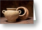 Pottery Photo Greeting Cards - Pottery II Greeting Card by Tom Mc Nemar