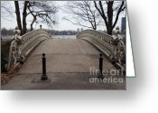 Jogging Greeting Cards - Power Walking In Central Park Greeting Card by Joe Scoppa
