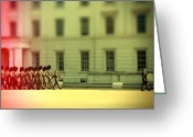 Regiment Greeting Cards - Practice makes perfect Greeting Card by Jasna Buncic
