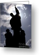 Martyr Photo Greeting Cards - Preacher Greeting Card by Michal Boubin