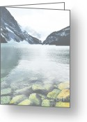 Winter Photos Greeting Cards - Precious Louise Greeting Card by Andrea Hazel Ihlefeld