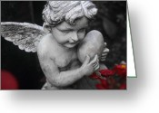 Mourner Greeting Cards - Precious Love Greeting Card by Marc Huebner