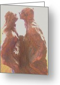 Male Sculpture Greeting Cards - Prelude Greeting Card by Dawn Fisher