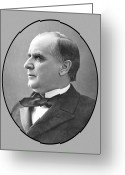 Republican Painting Greeting Cards - President McKinley Greeting Card by War Is Hell Store