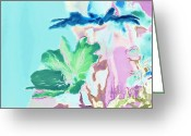 Collection Digital Art Greeting Cards - Pretty Bouquet a09z Greeting Card by Variance Collections