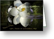 Cajun Greeting Cards - Pride of Louisiana Greeting Card by Cecil Fuselier