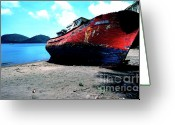 Vacation Destination Greeting Cards - Prince Rupert Bay Greeting Card by Thomas R Fletcher