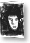Singer Songwriter Greeting Cards - Prince Greeting Card by Russell Pierce