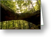 Rock Formations Greeting Cards - Princess Arch I Greeting Card by Amanda Kiplinger