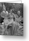 Full Skirt Photo Greeting Cards - Princess Collection Greeting Card by Kurt Hutton