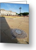 England Diana Greeting Cards - Princess Diana Memorial Walk At Buckingham Palace Greeting Card by Yhun Suarez