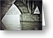 Bridge Prints Greeting Cards - Prism Of Sail Greeting Card by Jerry Cordeiro