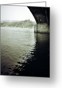 Bridge Prints Greeting Cards - Prison Stream Greeting Card by Jerry Cordeiro