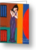 Merchandise Painting Greeting Cards - Prisoner Of Love Greeting Card by Patrick J Murphy