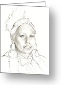 White Feather Greeting Cards - Promise Greeting Card by Robert Martinez