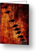 Charcoal Greeting Cards - Prophets Greeting Card by Andrew Paranavitana