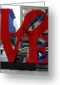 Location Art Greeting Cards - Protected by LOVE Greeting Card by Lee Dos Santos