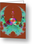 Scale Digital Art Greeting Cards - Protected Greeting Card by Ester  Rogers