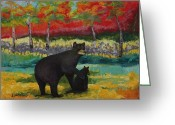 Protective Mother Greeting Cards - Protective Mother Greeting Card by Lisa Graves