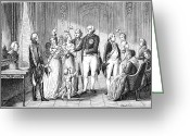 Grandson Greeting Cards - Prussian Royal Family, 1796 Greeting Card by Granger