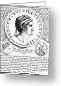 Viii Greeting Cards - PTOLEMY VIII (d. 116 B.C.) Greeting Card by Granger