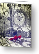 Railings Greeting Cards - Pumps Greeting Card by Joana Kruse