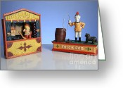 Judy Greeting Cards - Punch And Judy Greeting Card by Photo Researchers, Inc.