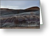 Sand Dunes Greeting Cards - Purple Haze Greeting Card by Dave Dilli