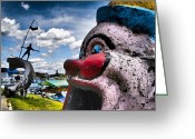 Guatape Greeting Cards - Purty Mouth Greeting Card by Skip Hunt