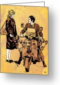 Pete Greeting Cards - Quadrophenia Greeting Card by Giuseppe Cristiano