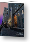 Transcend Greeting Cards - Quatre Vingt Dix Neuf Per Cent Energie Alternatif Greeting Card by Contemporary Luxury Fine Art