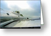 Eto Greeting Cards - Queen of the Air B-17 Greeting Card by Don Struke
