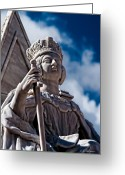 Christopher Holmes Greeting Cards - Queen Victoria Greeting Card by Christopher Holmes