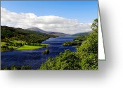 British Royalty Greeting Cards - Queens View in Scotland Greeting Card by Jason Politte