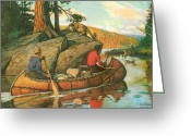 Waters Painting Greeting Cards - Quick Action Greeting Card by JQ Licensing