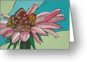 Arboretum Greeting Cards - Quick Taste Greeting Card by Sandy Tracey