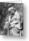Beauty Mark Greeting Cards - Quiet Contemplation Greeting Card by Mark J Seefeldt