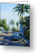 Td Greeting Cards - Quiet Day Key West Greeting Card by Frank Dalton