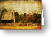 Farm Digital Art Greeting Cards - Quiet Life Greeting Card by Andrew Paranavitana