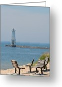 Lakescape Greeting Cards - Quiet Time Greeting Card by Odd Jeppesen